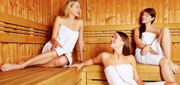 2 или 3 часа в финской сауне для компании до 4 человек в спортклубе «Викинг»