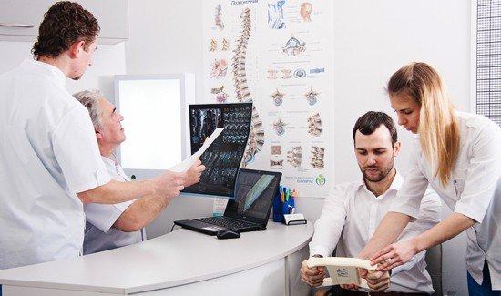 Курс лечения спины с МРТ или без во всеукраинской сети центров «Eurospine»