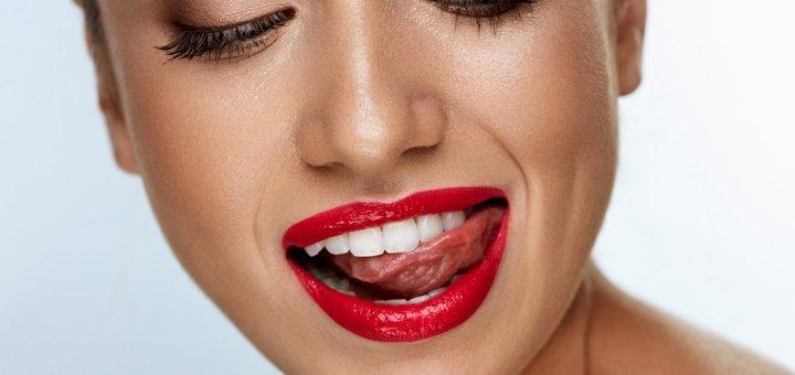 Скидка до 52% на установку виниров немецкой фирмы «E-max» в стоматологии «TenDDenT»