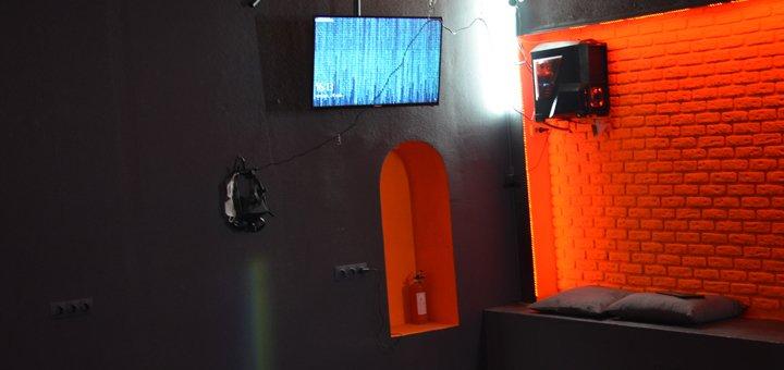 Один час игры в клубе виртуальной реальности «Portal»
