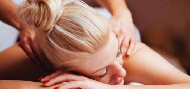 До 7 сеансов массажа в студии «Красотка»