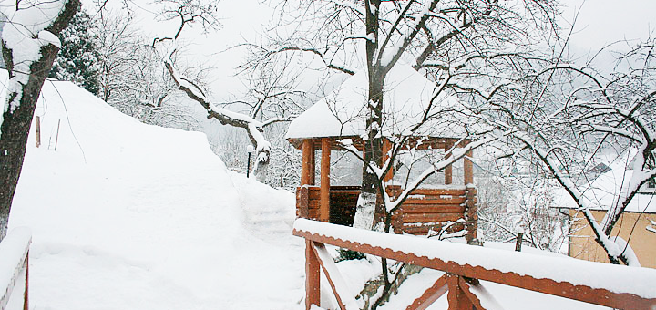 5 дней отдыха на Новый год в отельном комплексе «Горный спуск» в Карпатах