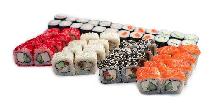 Скидка 52% на суши-сет «Холідей» от службы доставки «Kaminohi-sushi»